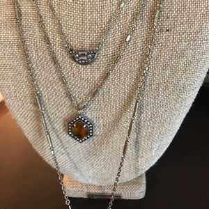 3 row grand cabaret necklace